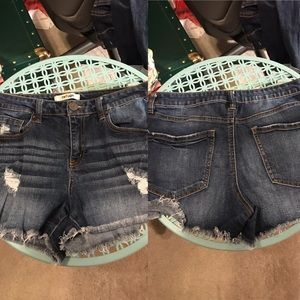 Refuge pair of shorts